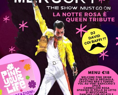 Notte Rosa 2018 al Bagno Stella Queen Tribute e Pink Menu